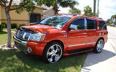 custom 2004 Nissan Armada