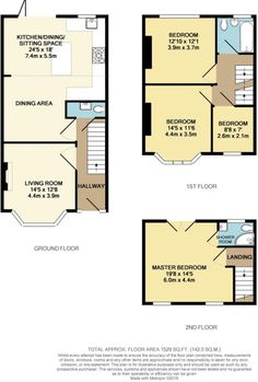 Check out this property for sale on Rightmove! 1930s House Extension, House Extension Plans, House Extension Design, Rear Extension, Extension Ideas, Loft Conversion Plans, Loft Conversion Bedroom, Kitchen Diner Lounge, Open Plan Kitchen Diner