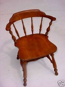 Ethan Allen Heirloom Mateu0027s Chair Colonial Early American Furniture .
