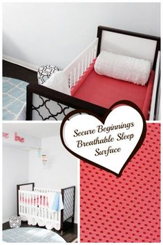Secure Beginnings Breathable Sleep Surface Completely Trampoline Like Mesh That Suspends Baby Allowing Moms To Easy Not Worry About