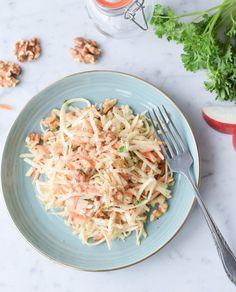 Raw Food Recipes, Salad Recipes, Cooking Recipes, Healthy Recipes, Food To Go, Good Food, Food And Drink, Raves, Vegetable Salad