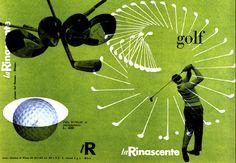Max Huber, copertina catalogo per La Rinascente, 1951