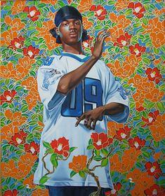 """odieisjustababy: """" Kehinde Wiley's use of deception within the realms of…"""