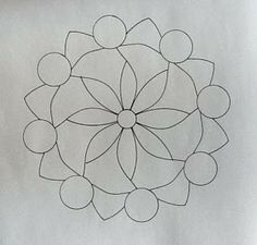 BLANK MANDALA by Lara Williams, CZT