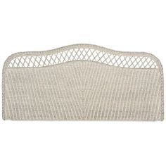Kallee Full Rattan Headboard, Quick Ship (670 CAD) ❤ liked on Polyvore featuring home, furniture, beds, grey, gray furniture, grey bed, gray headboard, gray bed and grey furniture