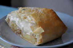 apple cream cheese strudel!