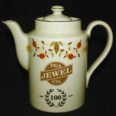HALL 1999 AUTUMN LEAF Jewel Tea Coffee Pot 100th Anniversary MINT CONDITION!