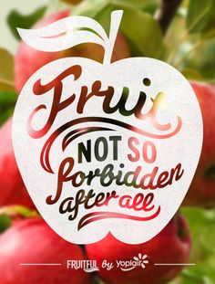 Fruit: No so forbidden after all