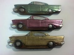 Classic Car Chocolate Party Favors by StephsSweetShop on Etsy, $30.00