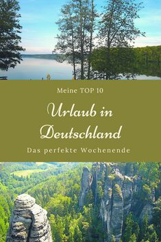 Top 10 – das perfekte Deutschland-Wochenende MOUNTAINS & MORE // SEA & PLACES – Do you have a desire for the perfect Germany weekend? Then once in a while my top 10 starts. It offers city and country secrets … Europe Destinations, Germany Europe, Germany Travel, Travel Around The World, Around The Worlds, Reisen In Europa, Camping Photography, Week End, Lake City