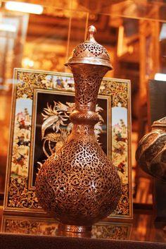 Isfahan Bazaar.All Handmade Beautiful souvenirs. Isfahan Bazaar. Photo by Mojgan Kh