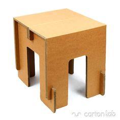 Taburete de cartón - cartonLAB