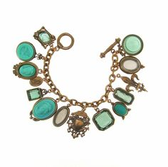 Extasia Charm Bracelet with Cameos and Intaglios