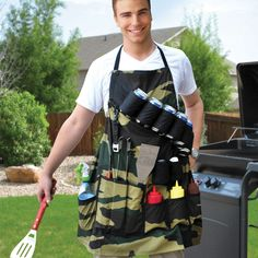 Men view grilling as a battle- man v. fire in an epic struggle for perfectly barbecued steak, burgers and chicken. Make sure you don't step into the battlefield unprepared by gearing up with our unique...