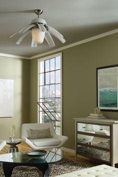 Imagination, Design And Engineering Join Forces To Create The Stunning  Airlift Ceiling Fan. It. Living Room ...