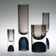 #glass vases by #TapioWirkkala    #Regram via @insyncdesign
