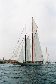 #Sailing #sailboat // Les Voiles de #SaintTropez by #kygp