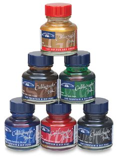 #ink #paper #pens #calligraphy #art #supplies #stationery