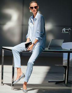 Der  angesagte Longstyle verbindet sportliche Eleganz und moderne Lässigkeit.