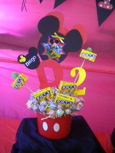 Mickey Mouse Birthday Package Centerpiece Treat by BumBeaCompany, $79.99