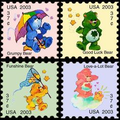 Care bear stamps