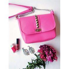 Pink Candy bag  #miss_s_design #handmade #pink #bag #Valentino #inspired #studdedbag #fashion #apparel #style #trend #detailsoftheday #flowers #spring #potd #lotd #ootd #madeinBiH #wearit_loveit