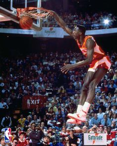 Dominique Wilkins #Hawks #NBA #Basketball
