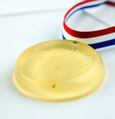 Go For The Gold Jelly Shots #Olympics