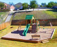 Kids backyard playground, playground design, backyard for kids, backyard id Kids Backyard Playground, Playground Design, Backyard For Kids, Playground Ideas, Outdoor Play Areas, Outdoor Fun, Outdoor Toys, Patio Interior, Interior Exterior