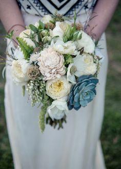 - beau - inspiration bouquet de la mariée -