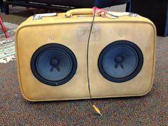 Suitcase Speaker.