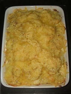 Csőben sült rakott krumpli