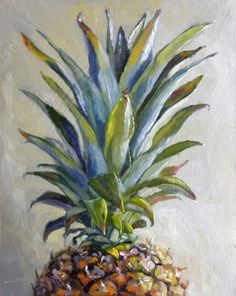 levels of realism Pinapple Painting, Pineapple Drawing, Pineapple Art, Fruit Painting, Hawaiian Art, Guache, Fruit Art, Art Sketchbook, Painting Inspiration