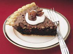 Give your neighbors a welcome gift like Dark Fudgey Pecan Pie!