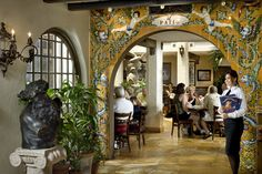 The Patio Dining Room - Columbia Restaurant St. Augustine