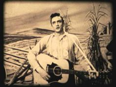 """Johnny Cash """"There You Go"""" (1958) Early Appearance on Country Style U.S.A. - YouTube"""