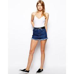heetheadz.com navy high waisted shorts (11) #highwaistedshorts