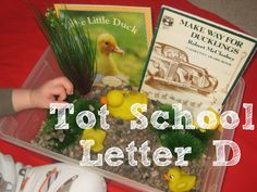Tot School Printables Letter D is for Duck from Wildflower Ramblings #totschool