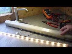LED IKEA lights running on 12v solar - Tales from the Solar Shed - YouTube