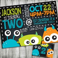 monster invitation monster birthday invitation monster party