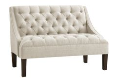 One Kings Lane - Sofas & Beyond - Essex Swoop Arm Chaise, Talc