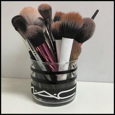 Mac brush holder DIY makeup brush holder Accessories Glasses