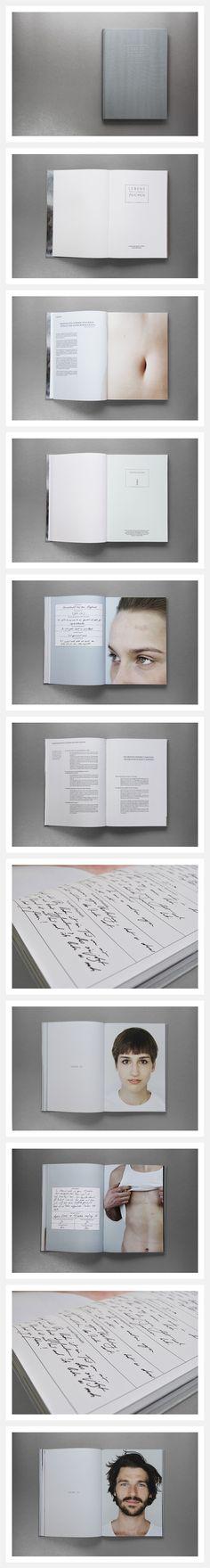 Book design for Lebens-Zeichen by Nora Lechner