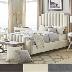 Chareau Velvet Upholstered Nailhead Headboard by iNSPIRE Q Bold (Full Size Headboard - Brown Velvet) Nailhead Headboard, King Size Headboard, Headboard And Footboard, Headboards For Beds, Padded Headboards, Online Furniture Stores, Furniture Deals, Bedroom Furniture, Home Furniture