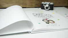 Libro de firmas para tu boda personalizado