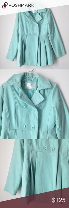 RARE! AMAZING! MINT SOFT SILKY PLEATED JACKET COAT ‼️ DESCRIPTION COMING SOON ‼️ SPECIFIC DETAILS ALSO COMING SOON ‼️ (But feel free and ask questions if interested.) || One small, light mark on the back of one of the sleeves. See photo 6. I originally bought the item new exactly like this- simply couldn't resist because WOW this coat is stunning!!! 😍💯💙 || This coat is many years old. A very RARE, unique, gorgeous find! Such a gem! 💎 No longer made, no longer sold in stores or online, no…