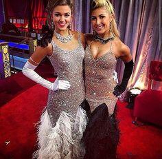 Sadie Robertson & Emma Slater