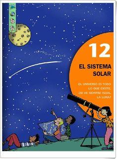 """Unidad 7 de Ciencias Sociales de 2º de Primaria: """"Descubrimos el Universo"""" Sistema Solar, Editorial, Books, Movie Posters, Socialism, Interactive Activities, Math Games, Social Science, Unity"""