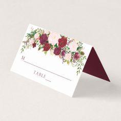 Burgundy Marsala Floral Wedding Invitation Card   Zazzle.com Marsala, Diy Wedding, Rustic Wedding, Wedding Gifts, Elegant Wedding, Floral Wedding Invitations, Wedding Invitation Cards, Diy Place Cards, Cards Diy