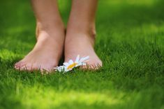 5 ways to cure smelly feet Women Legs, How To Better Yourself, 5 Ways, Beauty Skin, Feel Good, The Cure, Daisy, Green Grass, Barefoot